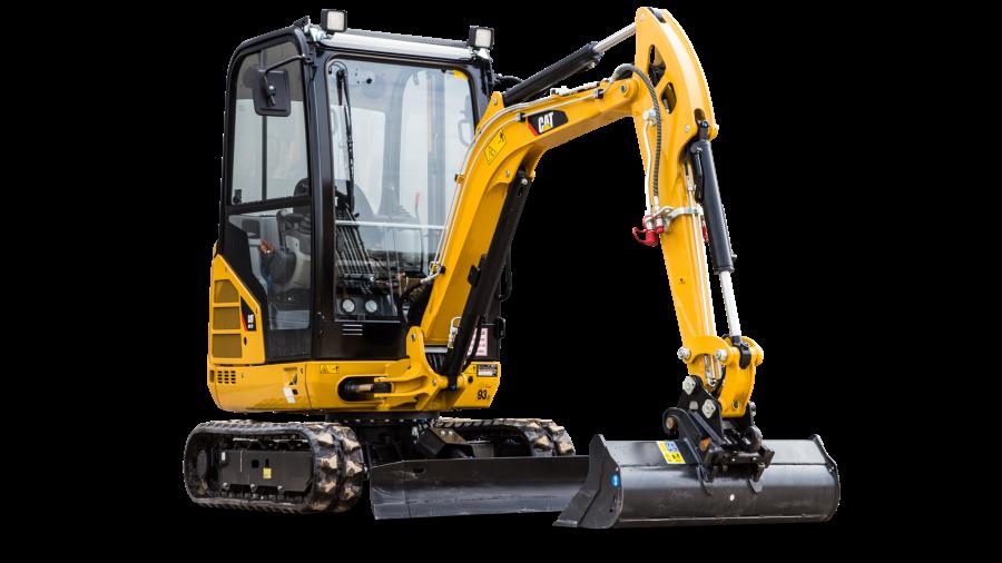 Minigraver Cat 301.7 2 ton