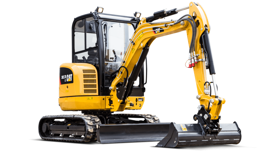 Minigraver Cat 302.7D 3 ton
