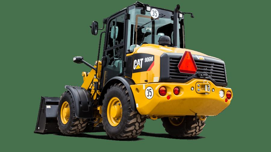 Wiellader Cat 906M